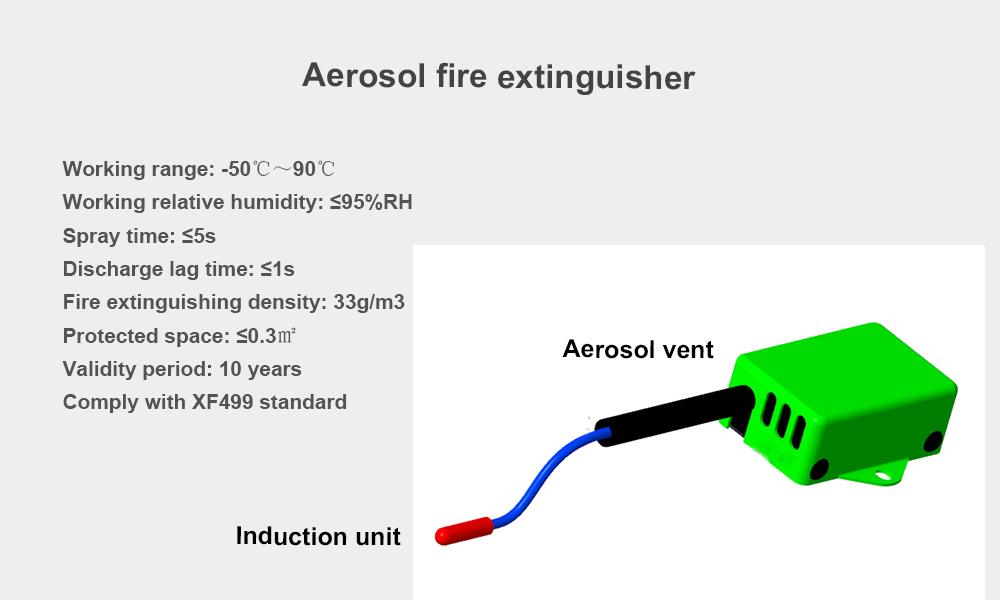 3.aerosol fire extinguisher