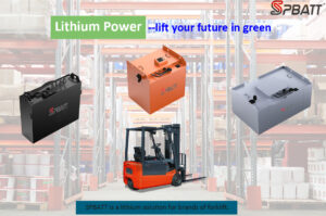 forklifts power battery